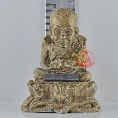 LP Thuat Statue 2559 Ajahn Klang Saeng & Others 18 Monks Chanted