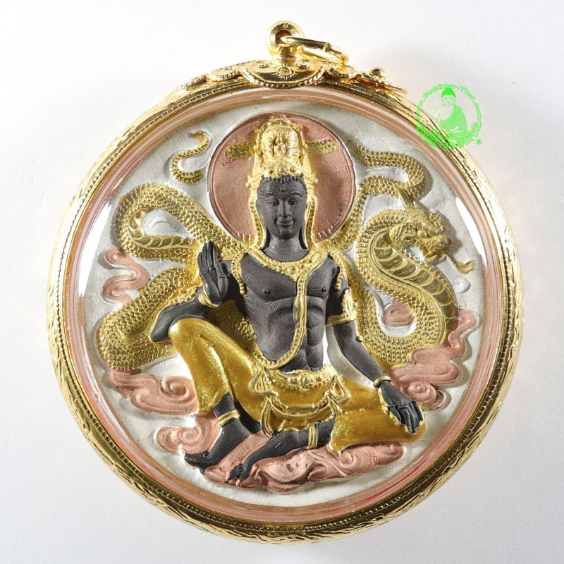 S/n:849 Luang Nui JTK KohSetThee 1st Batch (B.E 2549) 18k Gold Plated, Committee Version