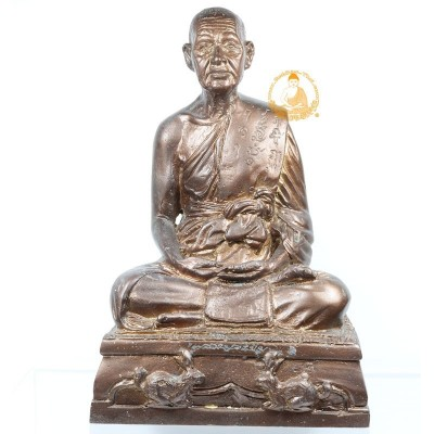 LP Yam Statue (BE 2538) 80 years Old Batch, Wat Sam Ngam