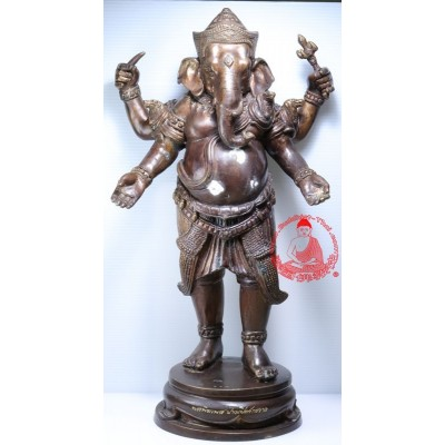 S/n:101 LP Hong Phra PiKaNet (2555) 14 Inches Height Ganesh Statue