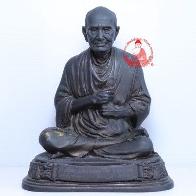 1st Batch Ajahn Toh (2527) Bless by LP Pae Wat PiKulThong 5 Inches Lap Statue