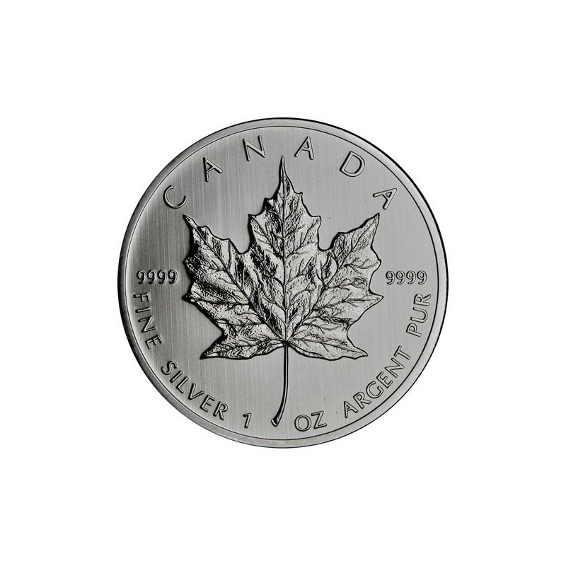 1 oz .9999 Pure Silver Maple Leaf Coin Canadian 2013