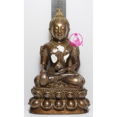 S/n:90 LP Hong 2554 Phra Kring 3 inches Lap Statue Make 200 pcs Wat Su San Tung Mon