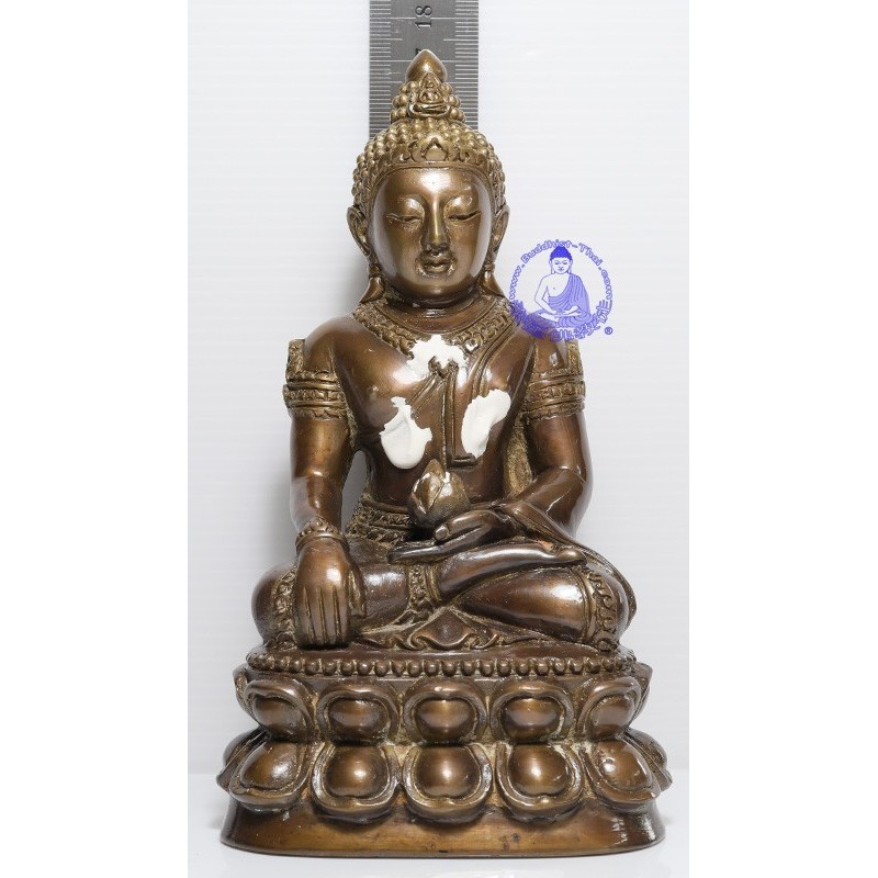 S/n:72 LP Hong 2554 Phra Kring 3 inches Lap Statue Make 200 pcs Wat Su San Tung Mon